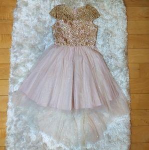 Rare Editions Hi-Low Dress